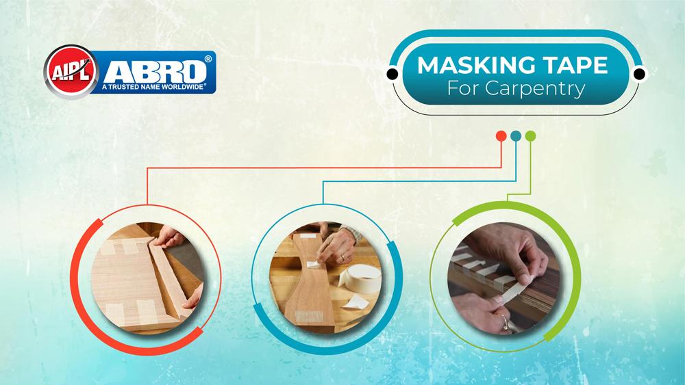 best masking tape for carpentry
